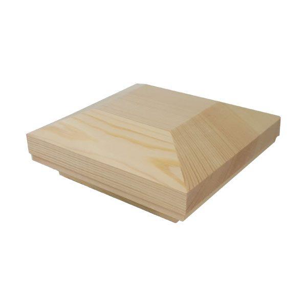 newel-pyrimid-cap-pine