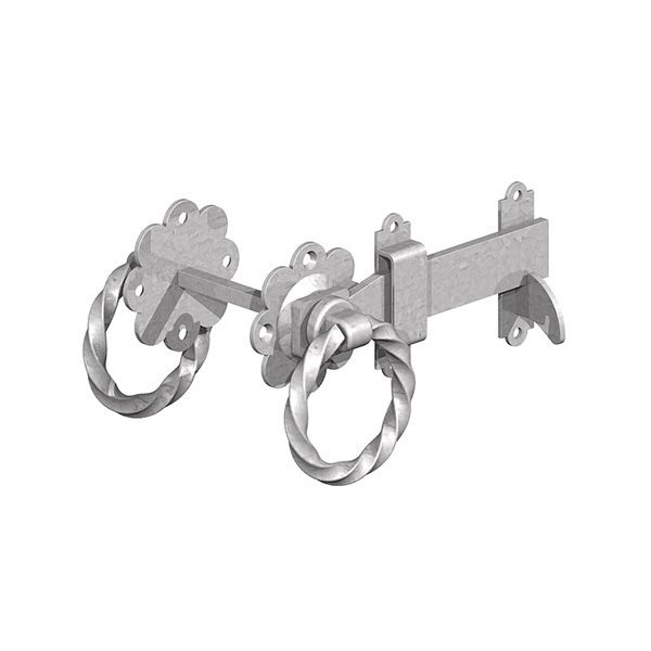 Twisted-Ring-Latch-Galvanised