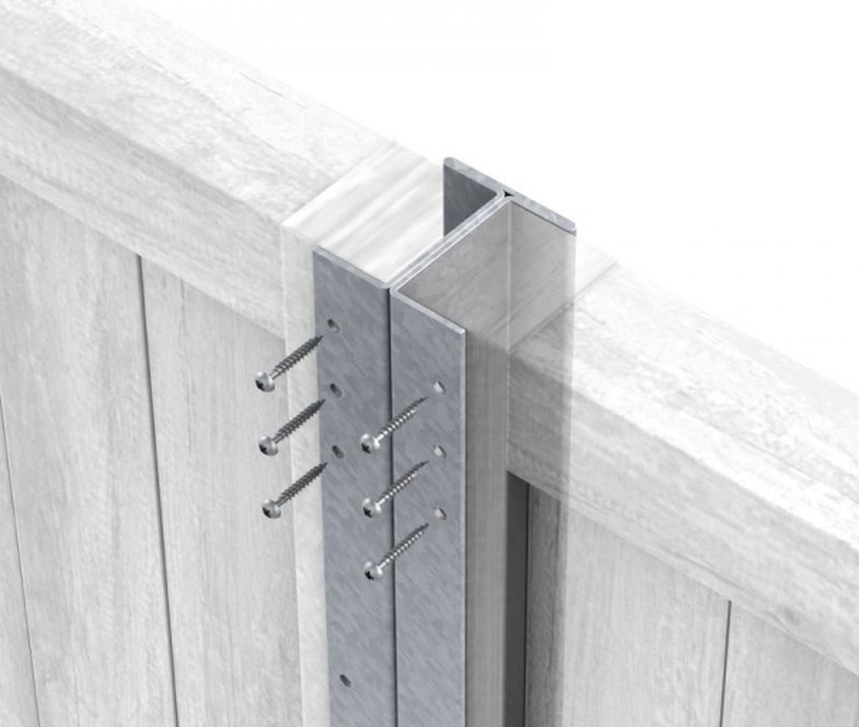 Galvanised Steel Durapost 2.4m